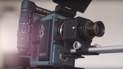 This Is What Happens When You Put a 140-Year-Old Lens on a 5K RED Scarlet-W
