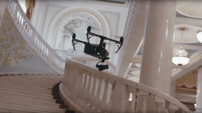 On Set with the Zenmuse X7 Aerial Cinema Camera from DJI