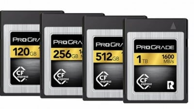 You Can Now Pre-Order CFexpress Memory Cards from Lexar, ProGrade, and SanDisk