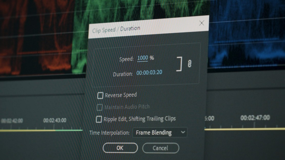 speed duration settings
