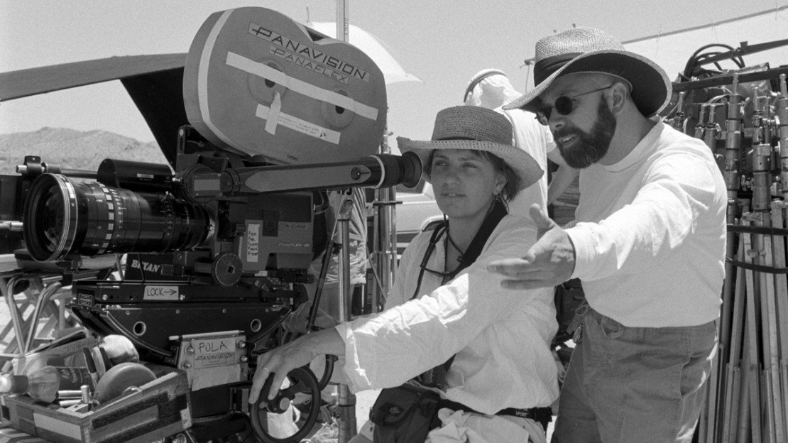 Bryan W. Simon and Cinematographer Denise Brassard