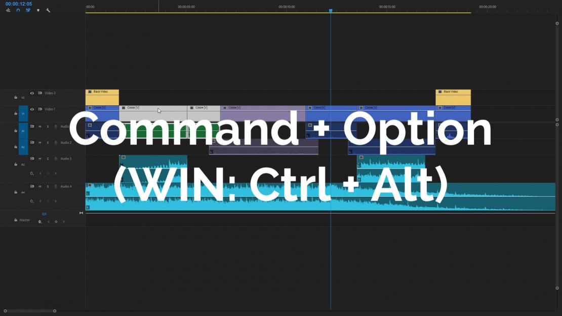 changing order of clips in premiere pro