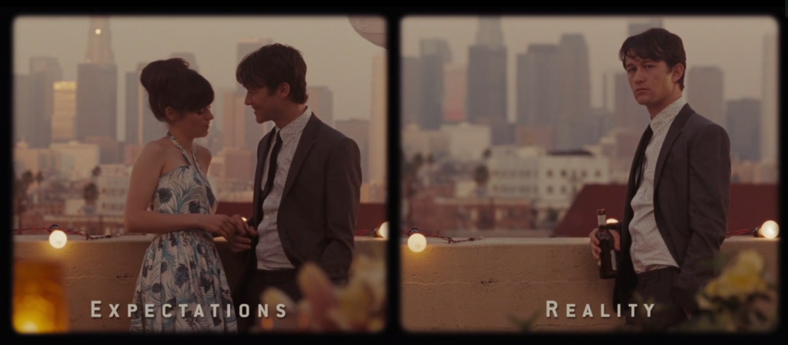 500 Days of Summer - Expectations vs. Reality