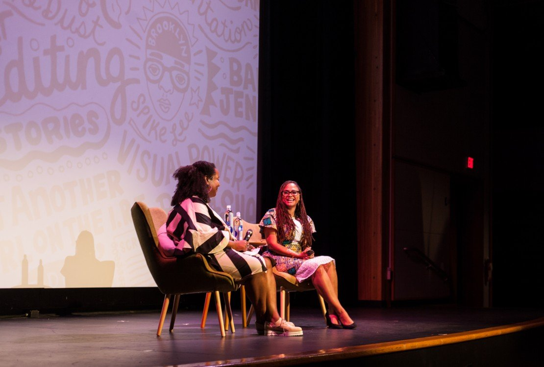 Ava DuVernay and Moderator Maori Karmael Holmes at Blackstar Film Festival
