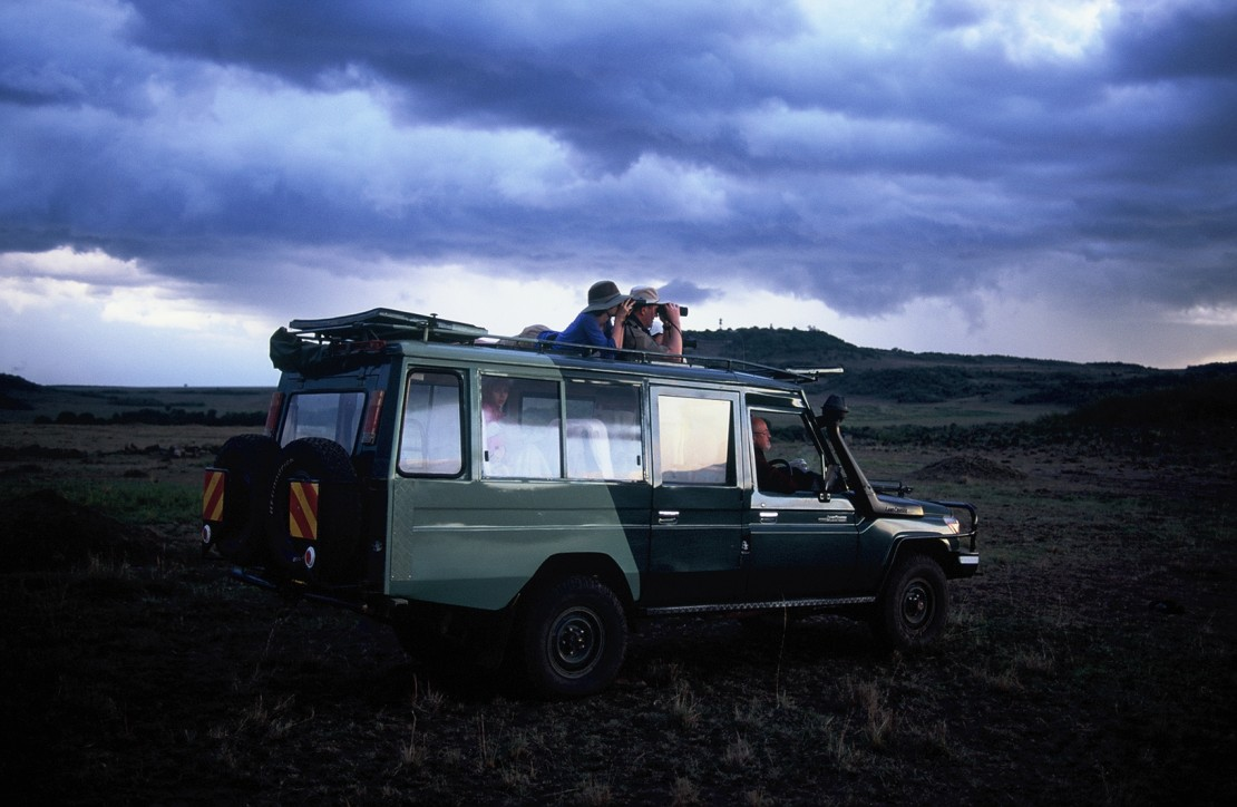 DP/director Arianna Lapenne aims to hone her skills by shooting on slide film and exploring the natural world: here in Masai Mara National Reserve, Kenya.