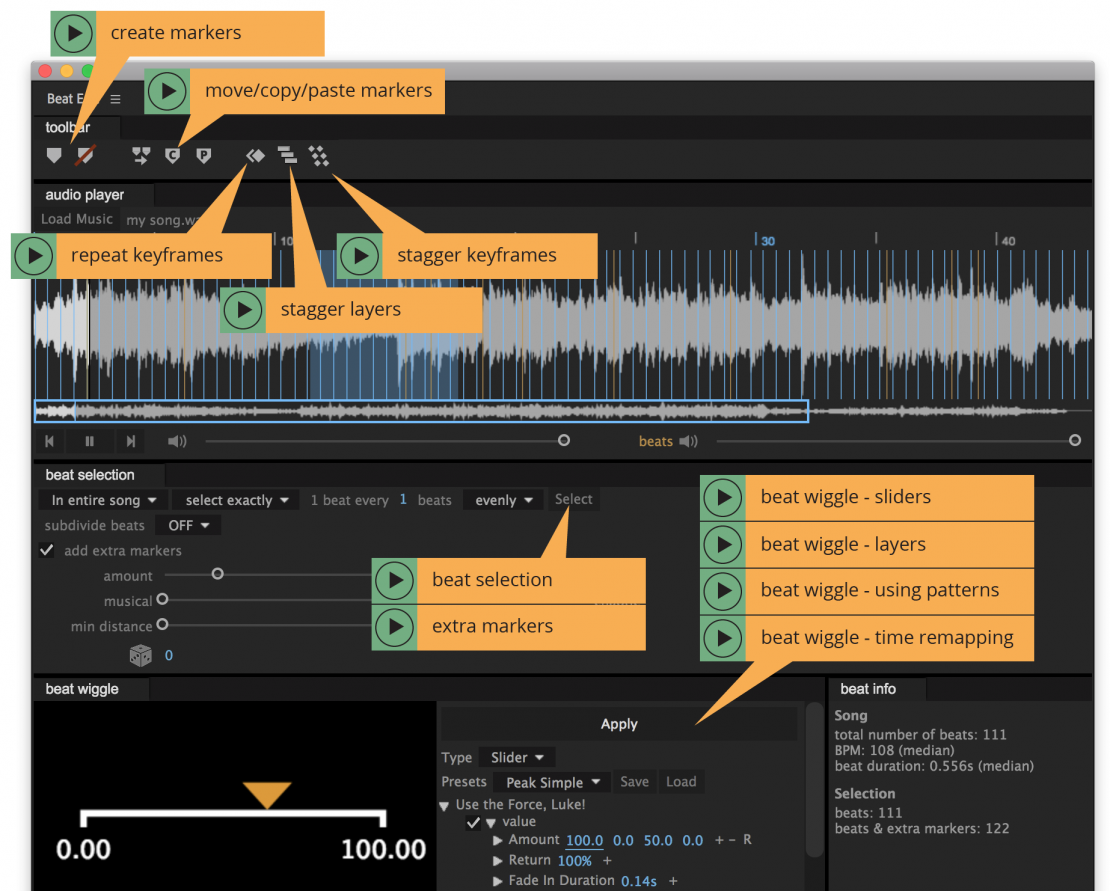 Animate to the Beat in After Effects with BeatEdit