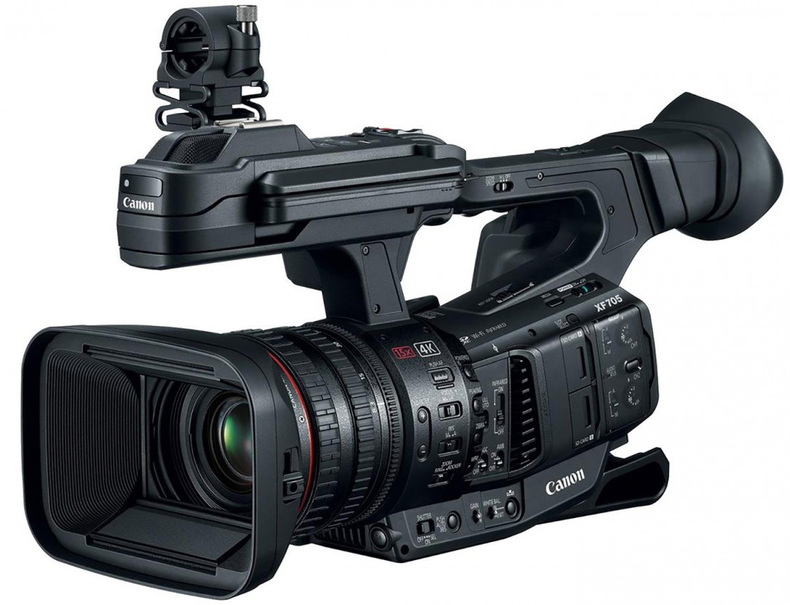Up Your 4K Game with the Blackmagic Pocket Cinema Camera 4K and the Canon XF705 From Adorama