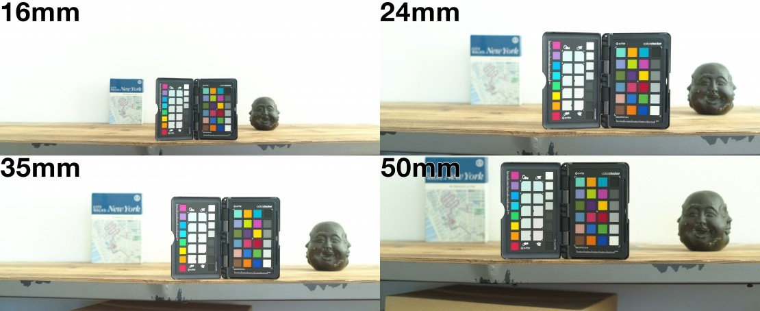 Chromatic Aberration & Depth of Field of the Zenmuse X7