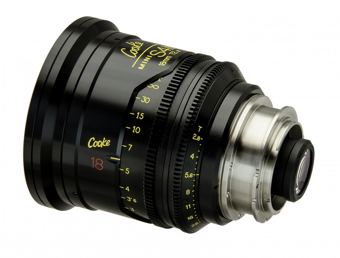 Cooke Optics Canon EF on 18mm