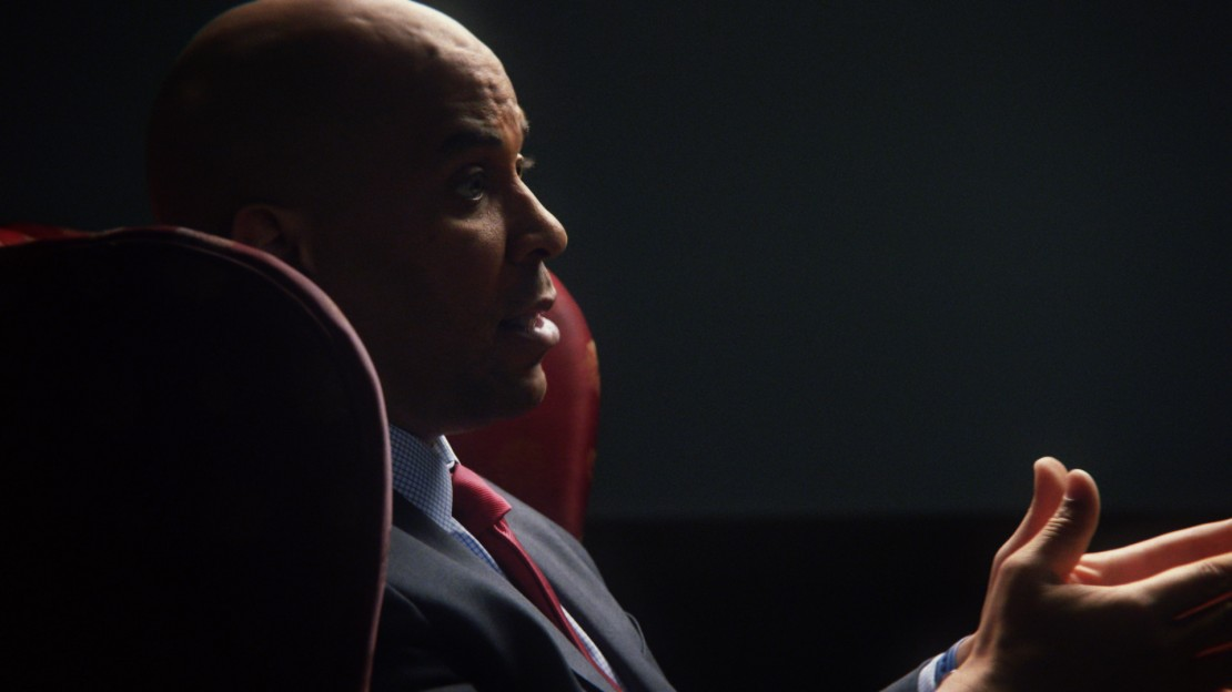 Senator Cory Booker in '13th'