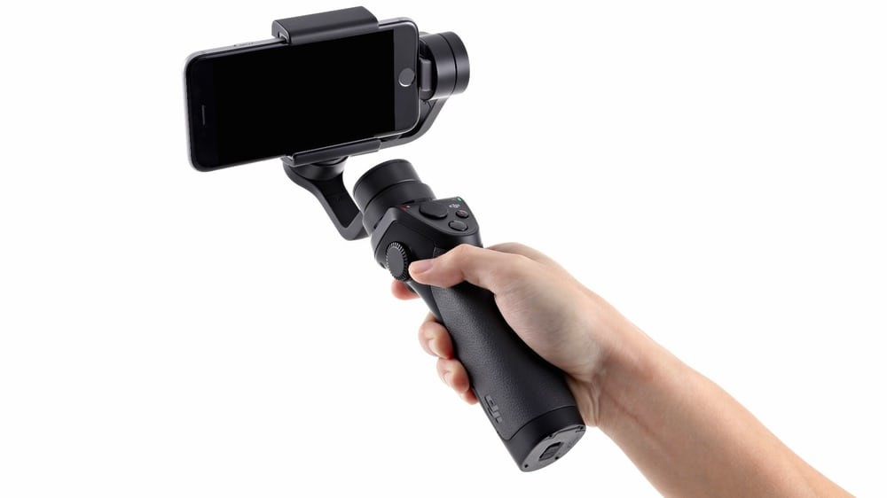 DJI mobile in your hand