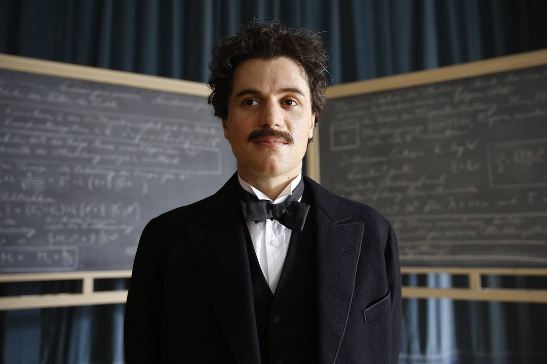 Johnny Flynn as young Albert Einstein in 'Genius'