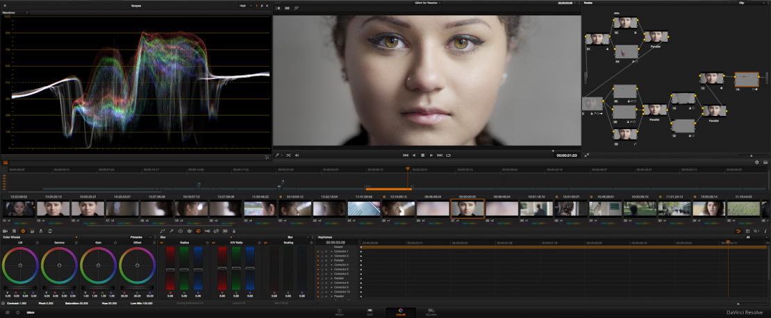 Glitch's Story DaVinci Resolve