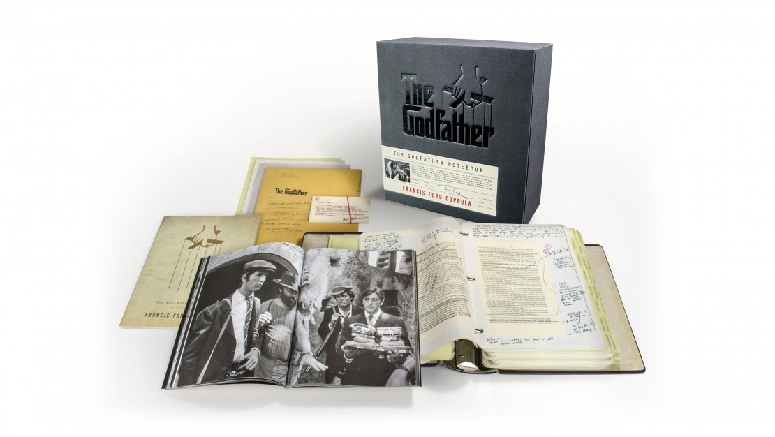 The Godfather Notebook Deluxe