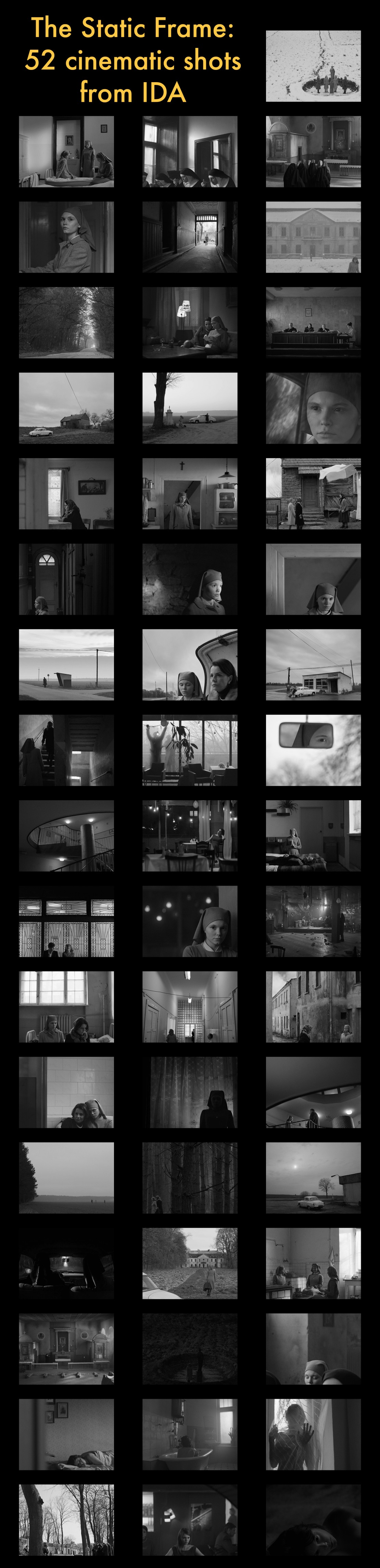 These Static Frames from Oscar Contender 'Ida' Show Why Composition is King