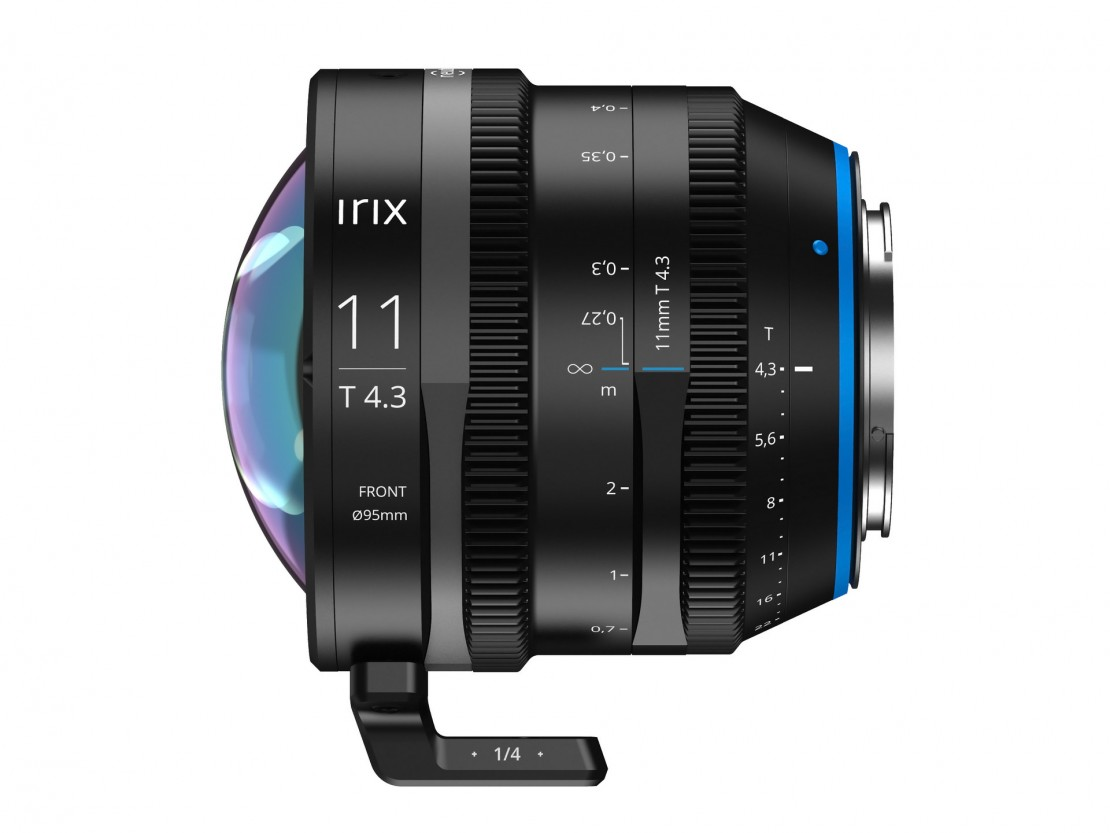 Irix Goes Super Wide with 11mm T4.3 Cine Prime Lens