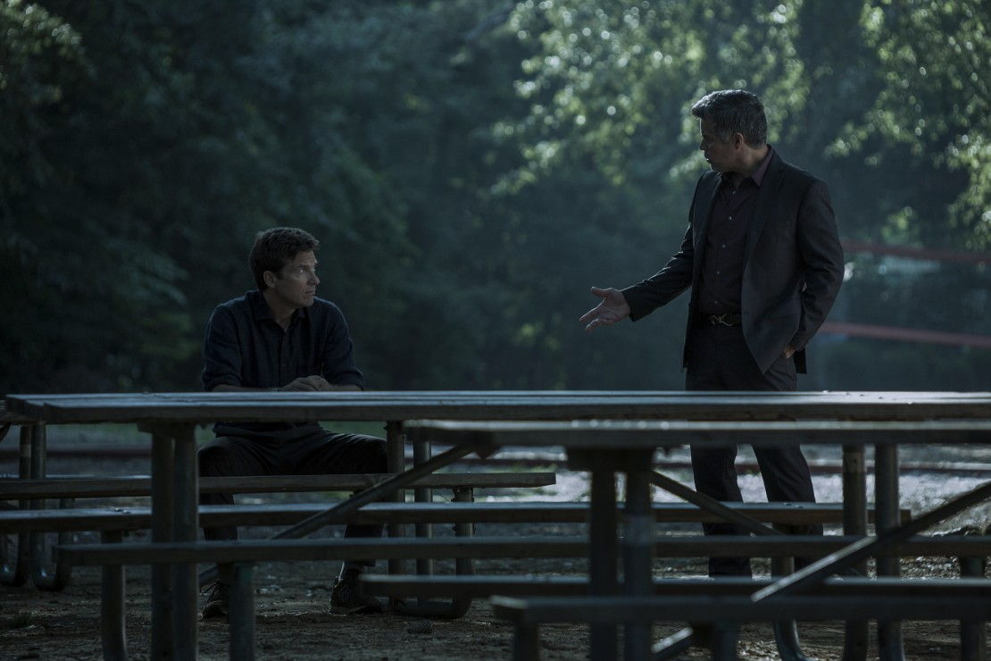 Jason Bateman and Esai Morales in Ozark