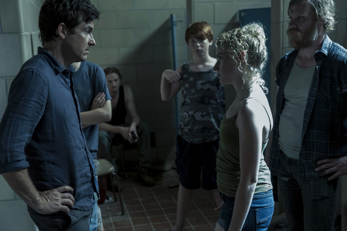 Jason Bateman and Julia Garner in Ozark
