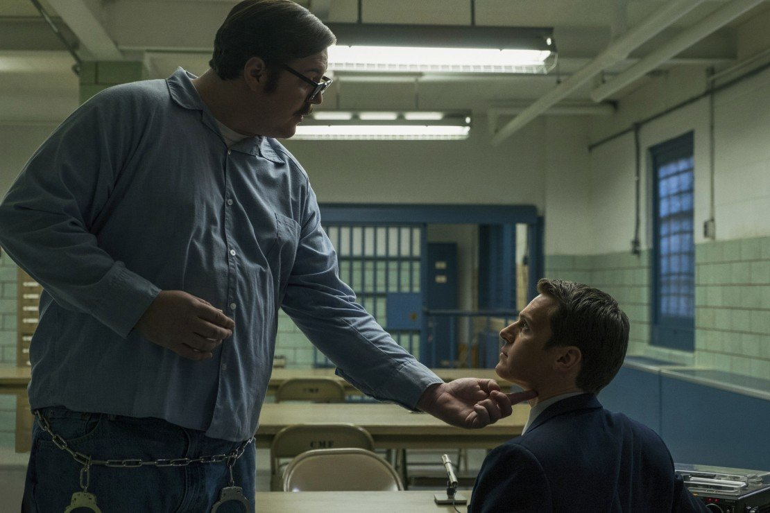 Jonathan Groff and Serial Killer in Mindhunter
