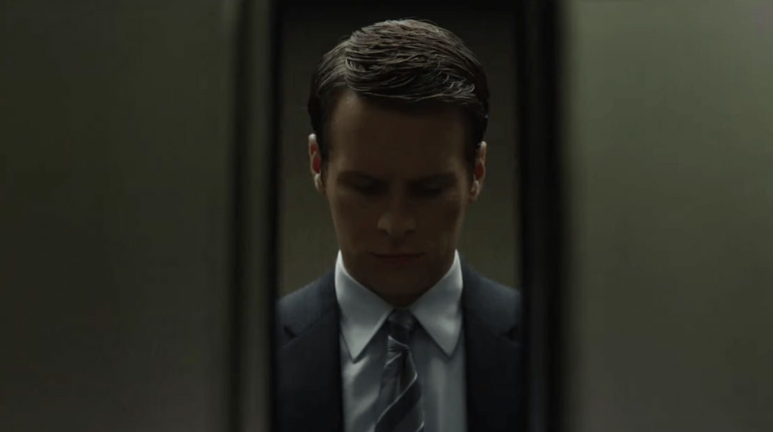 Jonathan Groff Elevator in Mindhunter