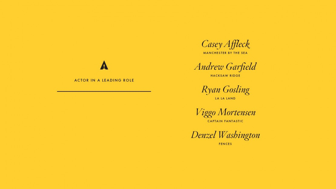 o Ver Los Oscar De 2014 likewise New logo and identity for the academy of motion picture arts and sciences by 180la furthermore Handicapping The Race Best Director together with 1985 additionally Oscar Nominations 2017. on oscar nominees best foreign film 2017