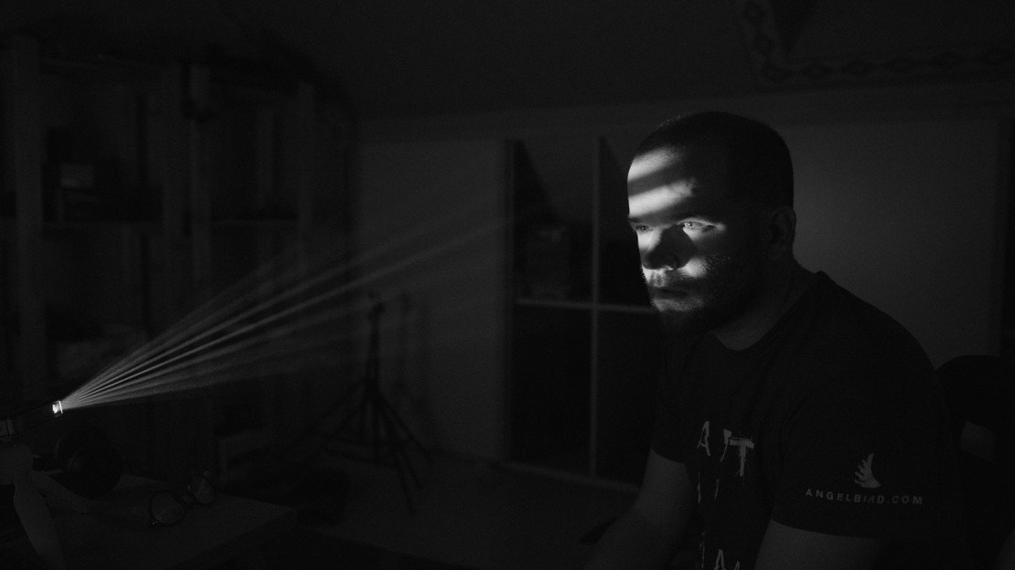 Light Film Noir with a Projector and Adobe After Effects