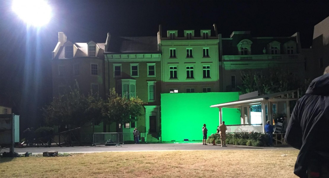 shootout lighting green screen and more with cineo hs2 leds