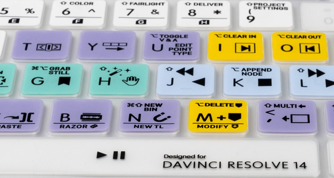 LogicSkin Davinci Resolve 14