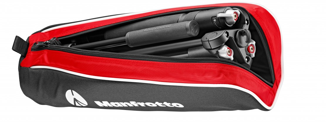 Manfrotto BeFree Live Video in its case