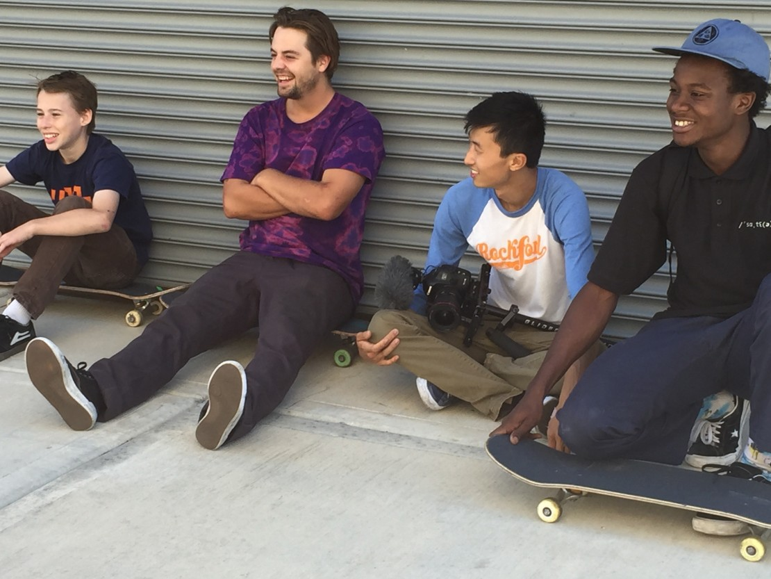 Behind the scenes of MINDING THE GAP.