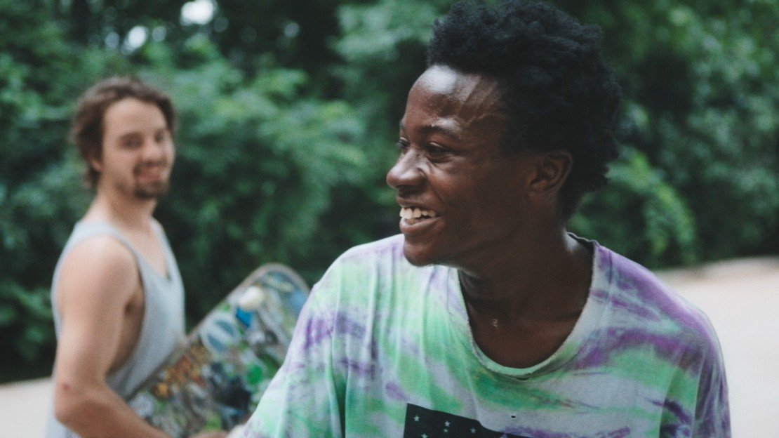 Zack and Kiere in MINDING THE GAP. Photo Courtesy of Hulu.