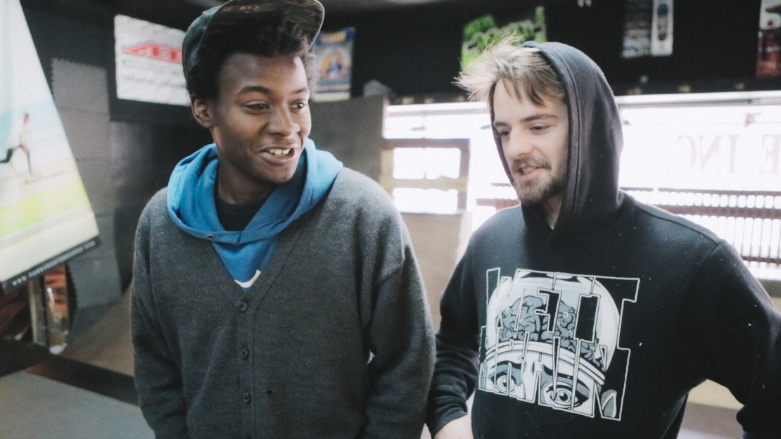 Kiere and Zack in MINDING THE GAP. Photo Courtesy of Hulu.