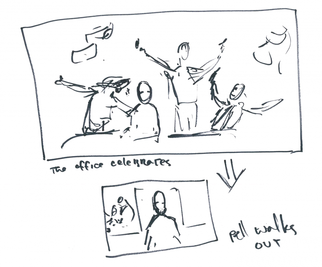 Storyboard from Re/Connections