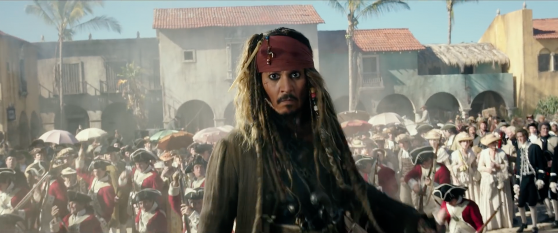 Pirates of the Caribbean Dead Men Tell No Tales DP Paul Cameron Captain Jack Sparrow (Johnny Depp)