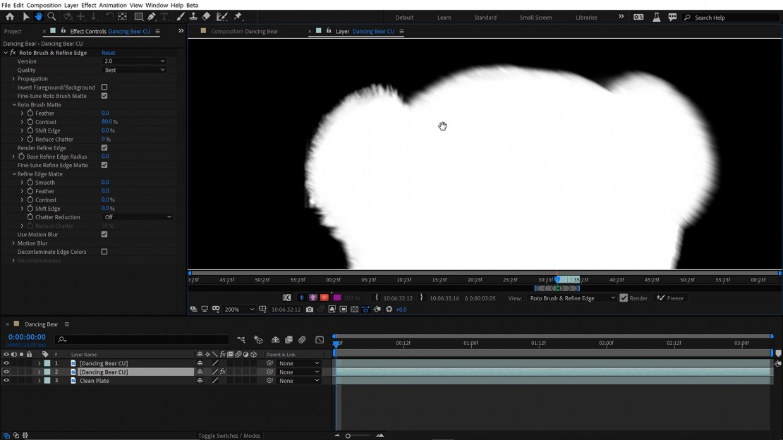 Roto Brush 2 Adobe After Effects