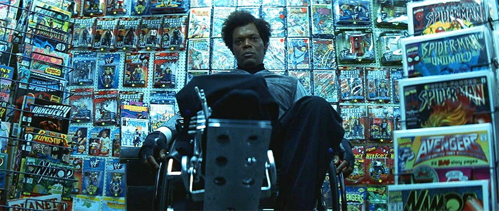 Samuel L Jackson in Unbreakable