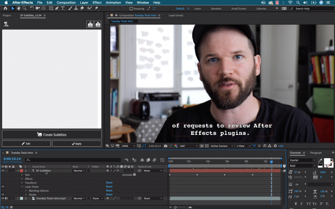 An Affordable and Easy To Use Solution for Subtitling in