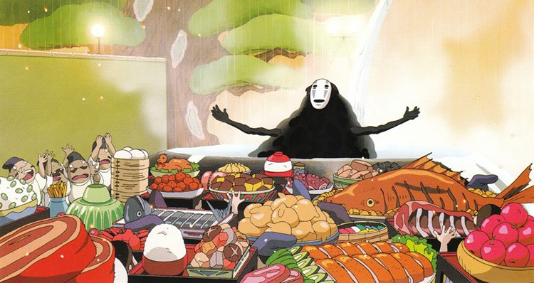 Spirited Away Food