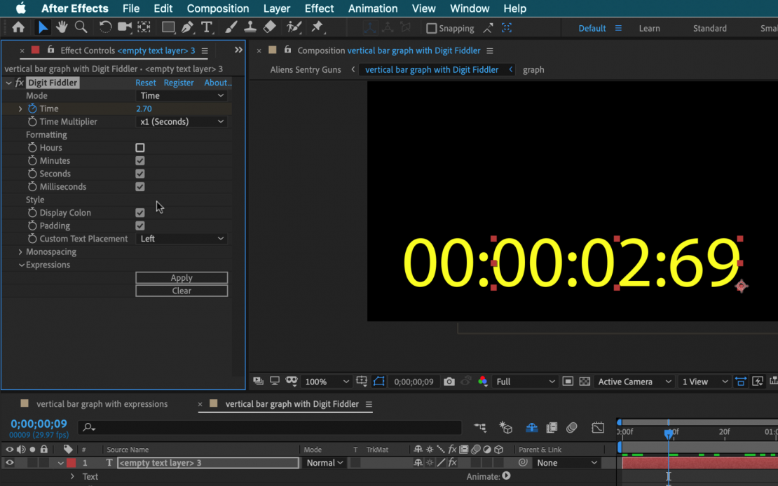 Take Control of Numbers in Adobe After Effects with Digit