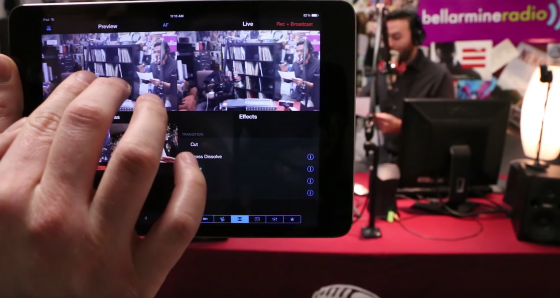 Switcher Studio Puts Live Video Switching in Your iOS Device