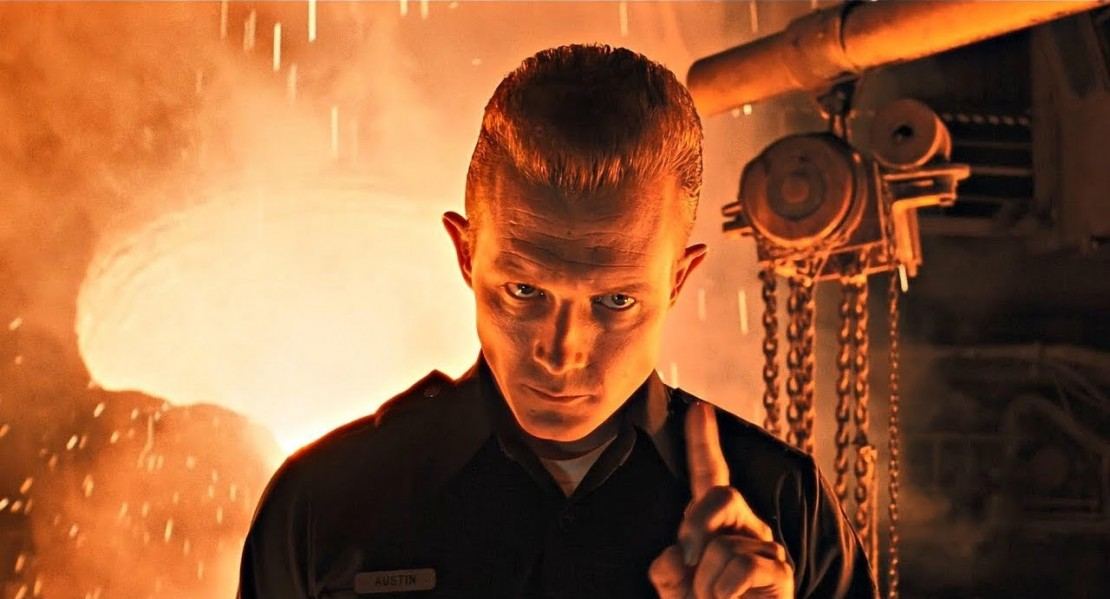 The T1000 in 'T2: Judgement Day'