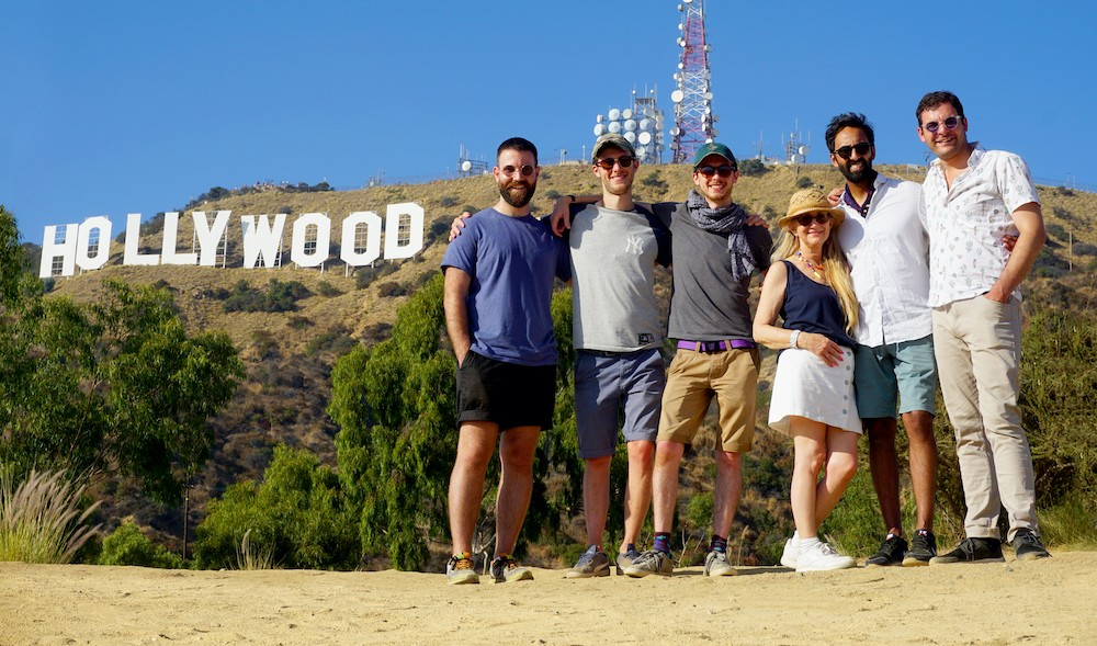Team COSMOS in Hollywood