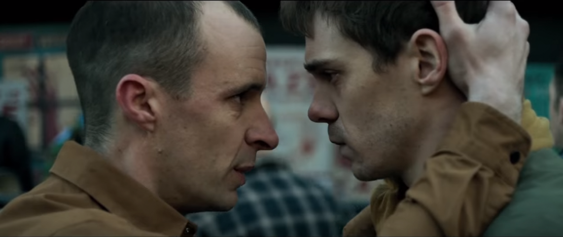 Sam Keeley and Tom Vaughan-Lawlor in 'The Cured'