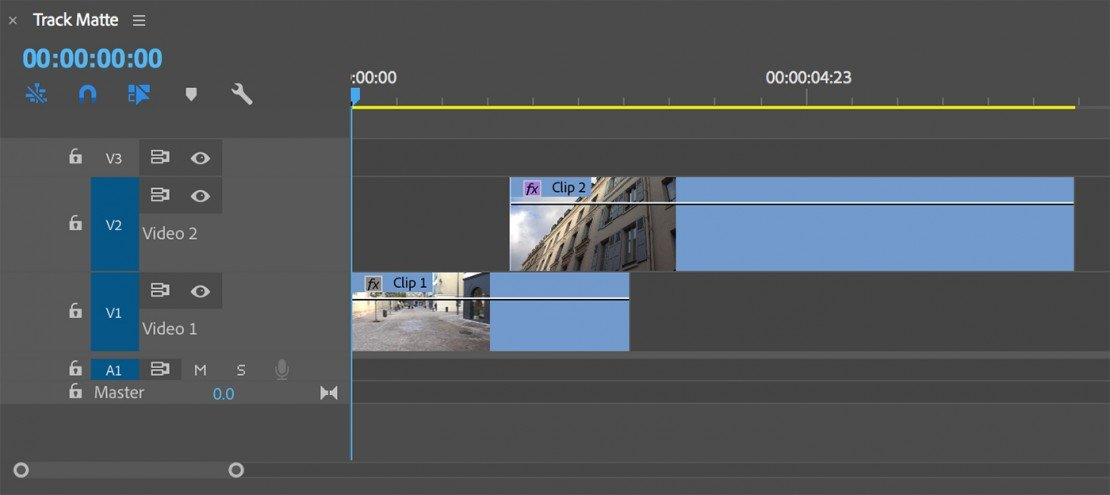 How to Transition with Track Mattes in Adobe Premiere Pro