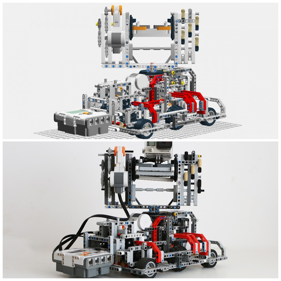 Build Your Own GoPro 3-Axis Motion Control Out of LEGOs