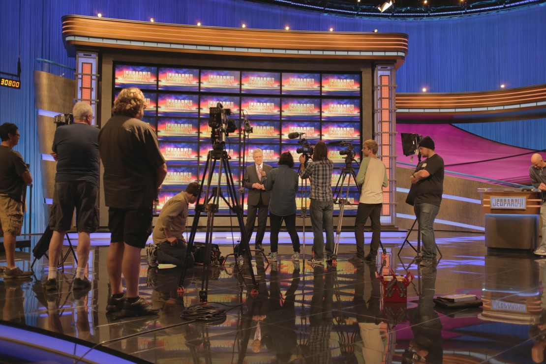 Who is Arthur Chu? Interviewing Alex Trebek on the set of Jeopardy