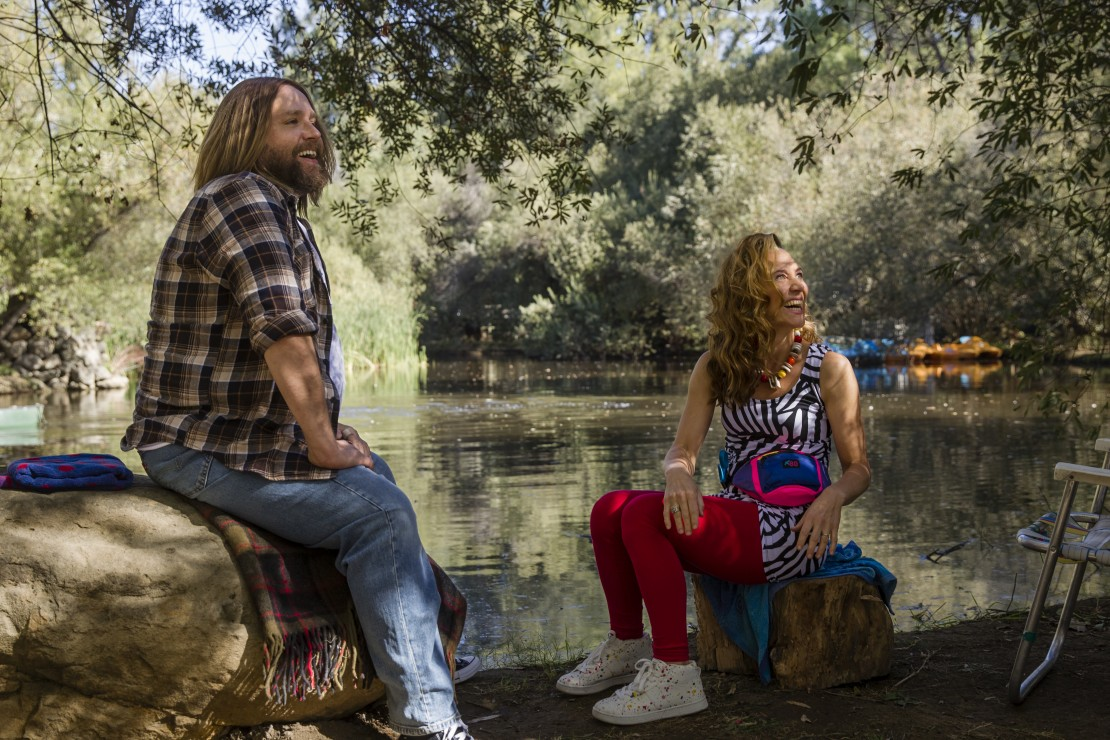 Zack Orth and Marisa Ryan in Wet Hot American Summer Ten Years Later