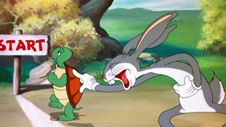 the tortoise and the hare allegory