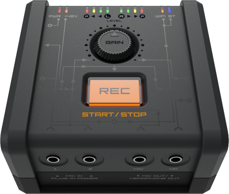 Reclouder Audio Recorder backs up to the cloud