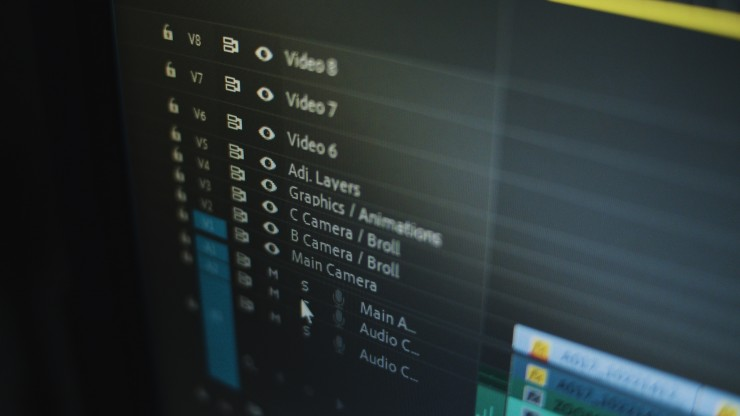visible track names in premiere pro
